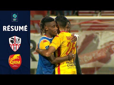 AC Ajaccio Quevilly Rouen Goals And Highlights