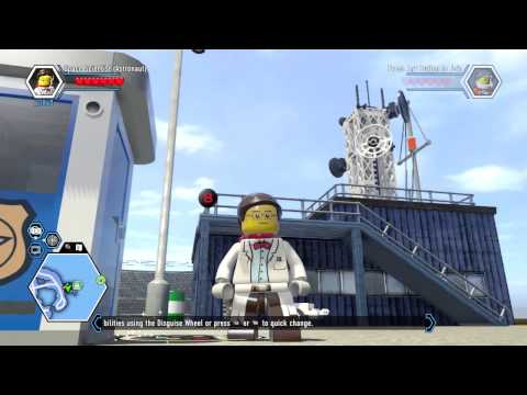 LEGO City Undercover Remastered Space Scientist Unlock Location and Free Roam Gameplay