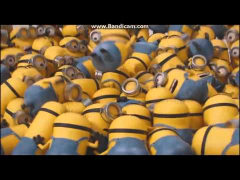 minions mini movie 2015 (funny moments and song )