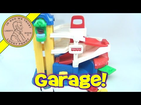 Fisher-Price Little People Action Ramps Parking Garage No. 72393, 1995