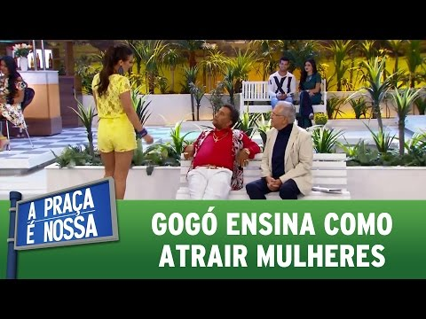 Paulinho Gogó ensina como atrair mulheres | A Praça É Nossa (04/05/17)