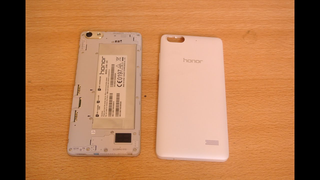 Huawei Honor 4c How to Open Back Cover Easily