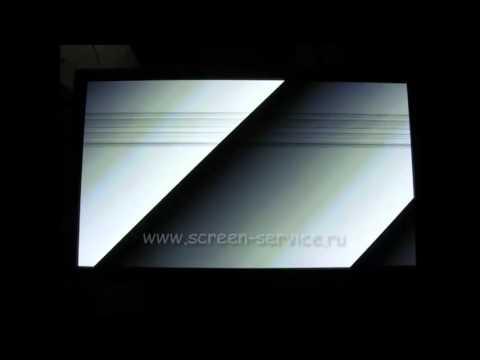 Ремонт телевизора Samsung PS50C490 - черные полоски на экране. Восстановлено. www.screen-service.ru