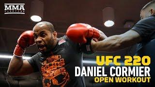 UFC 220: Daniel Cormier Open Workout - MMA Fighting