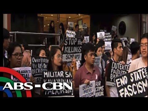 Bandila: Mga estudyante, kinondena ang pagkansela ng lisensya ng Rappler