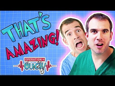 Operation Ouch - That's Amazing! | Science for Kids