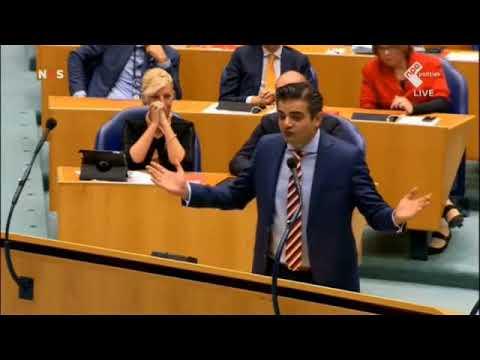 Kuzu(DENK) interrumpeert Geert Wilders(PVV), Goede confrontatie!