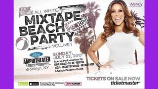 Wendy Williams All White Mixtape Beach Party