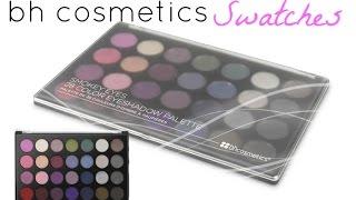 bh cosmetics smokey eyes palette swatches