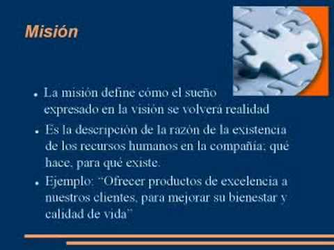 b9e39df50d Exposicion Mision y Vision - YouTube
