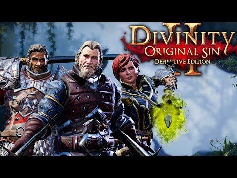 #2 Скелет призыватель. Ко-оп  на макс сложности   Divinity: Original Sin 2 Definitive Edition