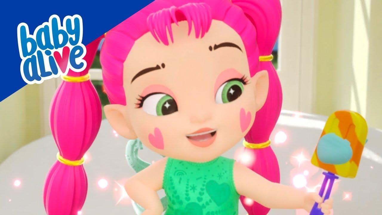 👶🏻 Baby Alive 👶🏼💕 Magic ice Cream 👶🏾🍦 BRAND NEW SHOW 🌈 Kids Videos and Baby Cartoons 💕
