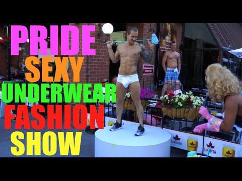 Glamour gay hot male underwear tube