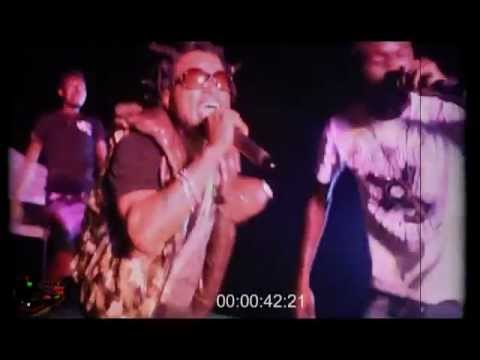 FRICTION (VIP) AND SHATTA ZOLA  @ IWAN 4 UNITY CONCERT 2013