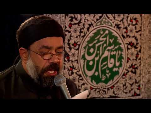 Haj Mahmoud Karimi 6th Muharram 2017 حاج محمود کریمی شب ششم محرّم۱۳۹۶ زمینه رحمی به من که گریانم عمو