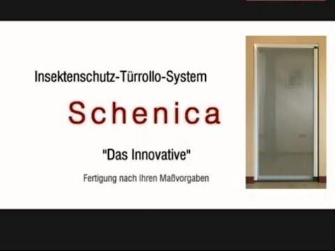insetto insektenschutz plissee f r t ren plissee slim doovi. Black Bedroom Furniture Sets. Home Design Ideas