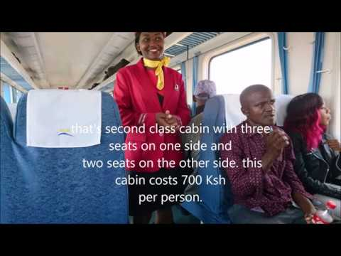 Travel by train from Nairobi to Mombasa