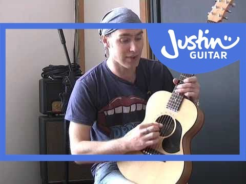 Nashville Tuning on Guitar (Guitar Lesson TB-505) How to play