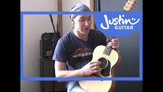 Nashville Tuning On Guitar (guitar Lesson Tb 505) How To Play