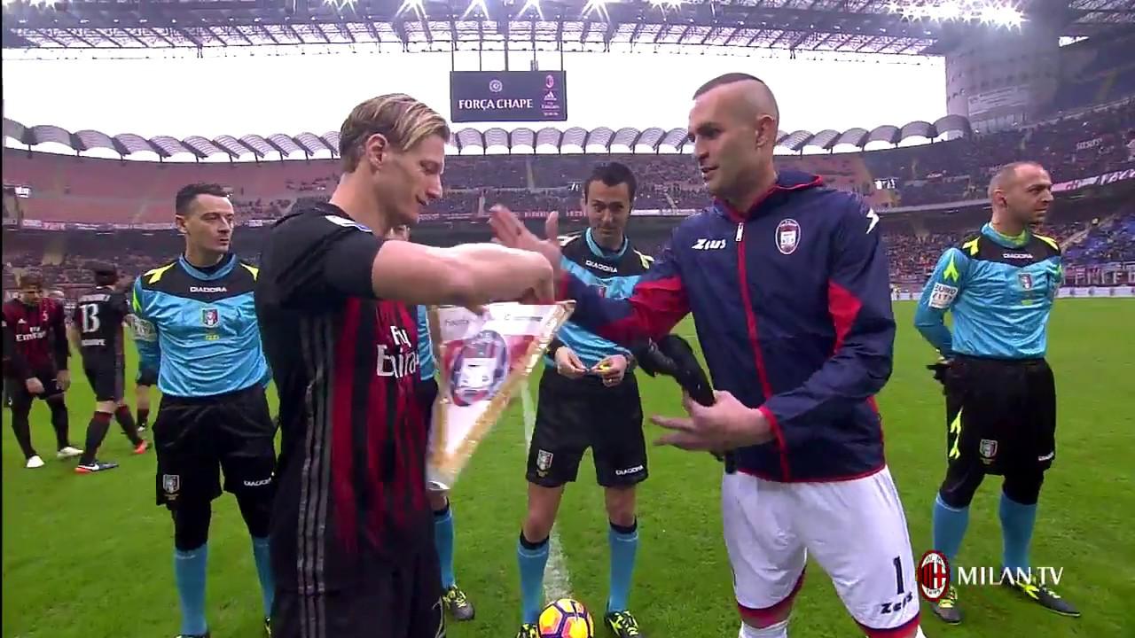 Highlights Ac Milan Fc Crotone 4th December 2016 Serie A Youtube