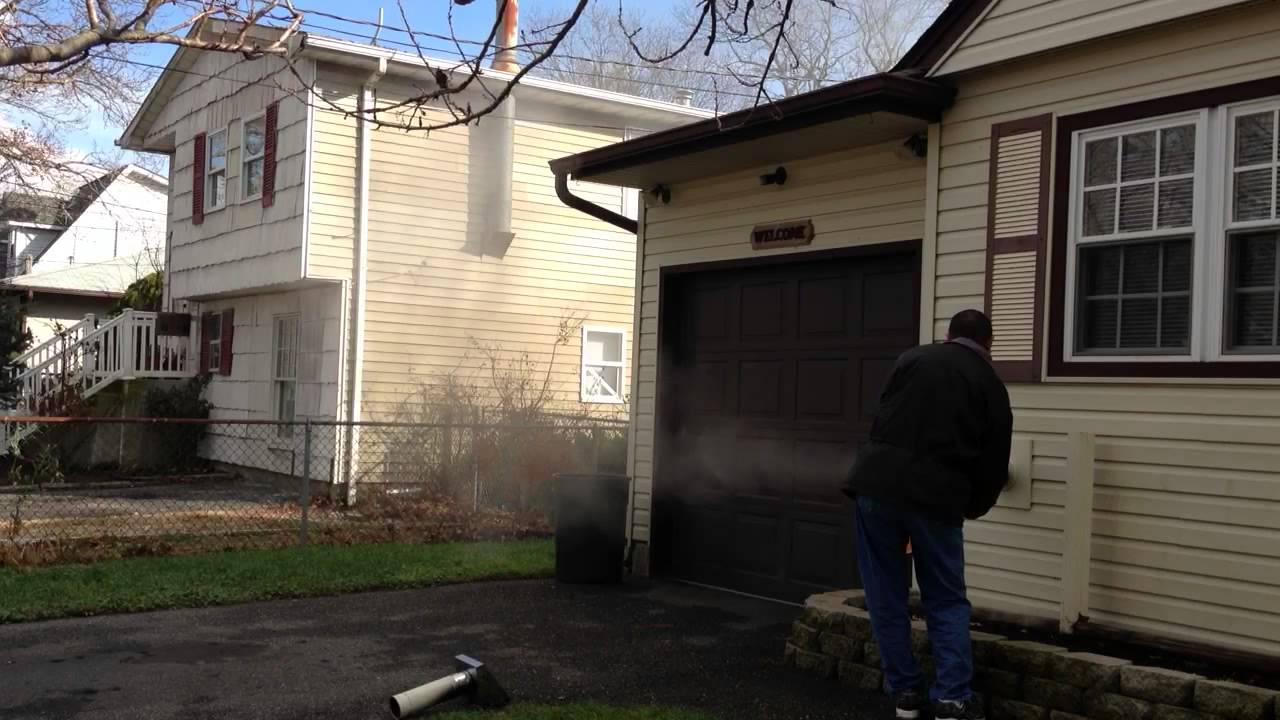 Cleaning Out Pellet Stove Vent Pipe Youtube