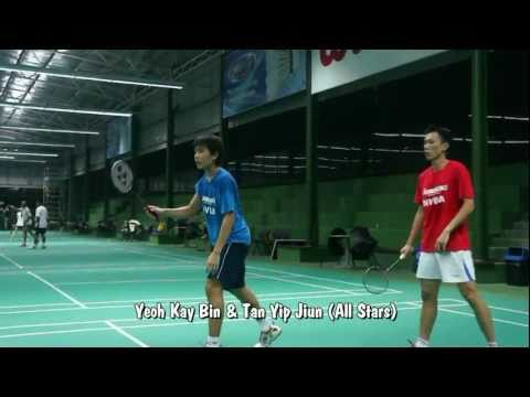 Xtreme Badminton Social League session1  EVRC vs All Stars (11.5.2011)