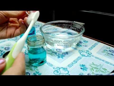สาธิตวิธีล้างทำความสะอาด แหวน เครื่องประดับง่ายๆ How to clean diamond ring