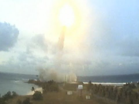 Missile Defense Agency Flight Test - Launch/Intercept of an SM-3 from USS O