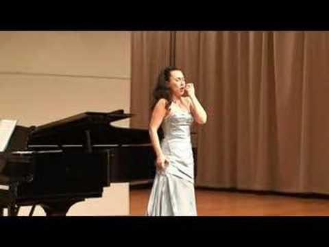 Poliubila Ja na Pechal Svoiu by Sergey Rachmaninov Concert in San Francisco Univercity
