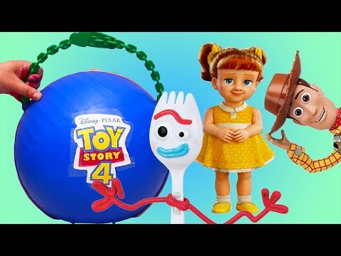 LOL Big Surprise Custom with Toy Story 4 Toys and Dolls ! Fun Play for Children | SWTAD Kids