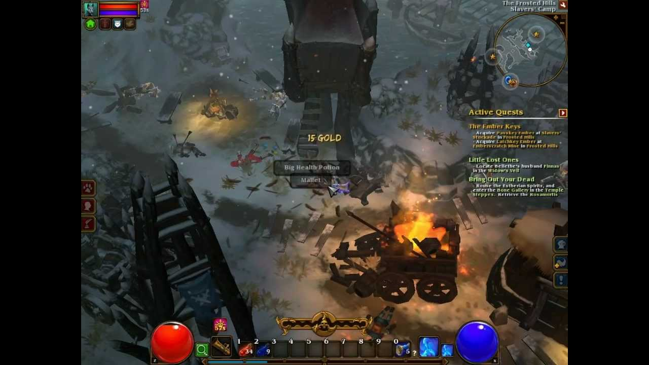 Let's play TORCHLIGHT II - cz5 Crows' Pass i Frosted Hills 1/2