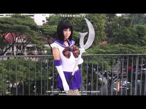 International Cosplay Day Singapore 2015 at Orchard Scape on 23 Aug 2015 Sun (Sailormoon)