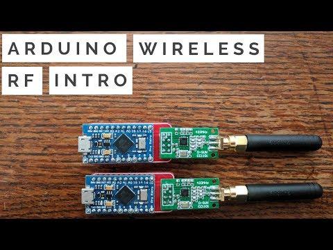 Arduino Wireless RF Transceiver Module Intro