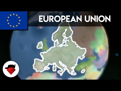 Forming The European Union | Rise Of Nations [ROBLOX]