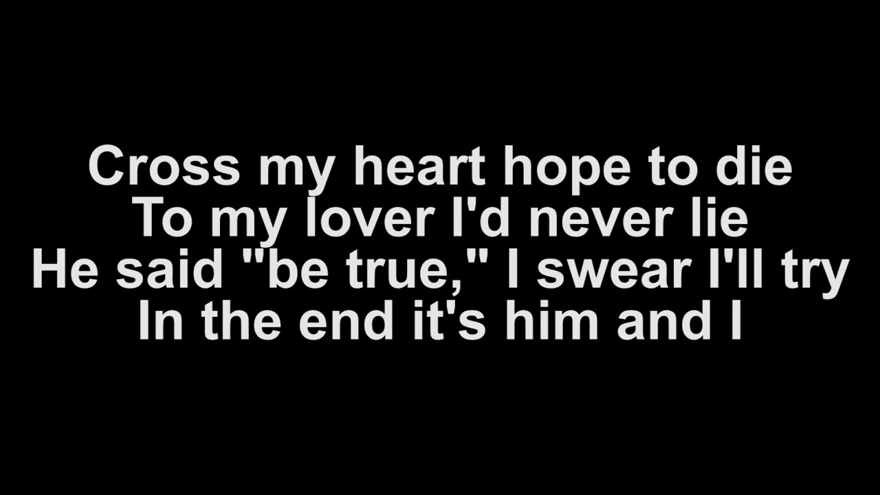 Him & I (Lyrics)