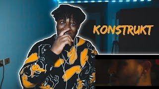 BOOKING MACHINE - KONSTRUKT  | Reaction By The Black Kid