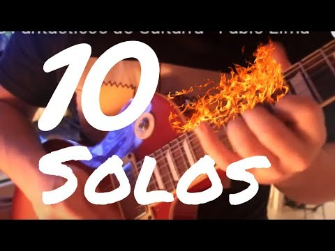 10 Electric Guitar Solos by Fabio Lima