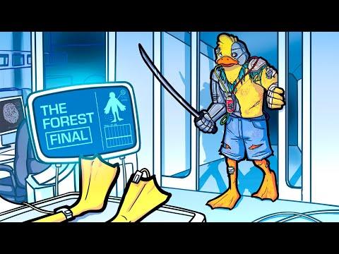 ENCUENTRO a mi HIJO en un LABORATORIO SECRETO, pero... (The Forest Final)