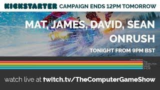 ONRUSH - Kickstarter stream with Mat, David and Sean   The Computer Game Show