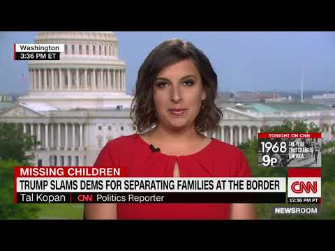 Tal Kopan reports on America losing track of over 1,400 immigrant children (uploaded May 28, 2018)