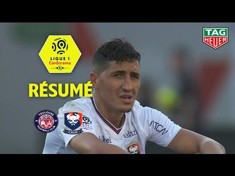 Toulouse FC - SM Caen ( 1-1 ) - Résumé - (TFC - SMC) / 2018-19