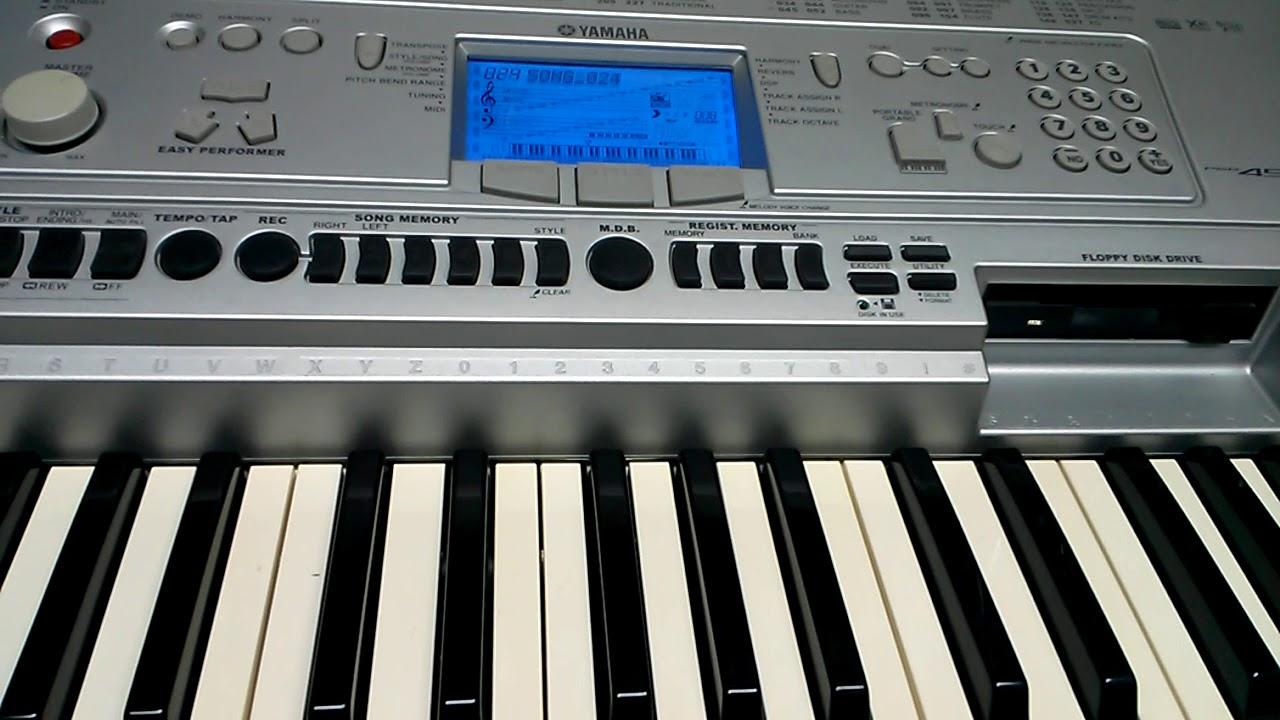 YAMAHA PSR 450 MIDI WINDOWS 7 DRIVERS DOWNLOAD