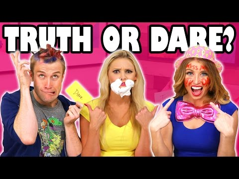 Truth or Dare Challenge for Kids with Jenn vs Weston vs Lindsey. Totally TV