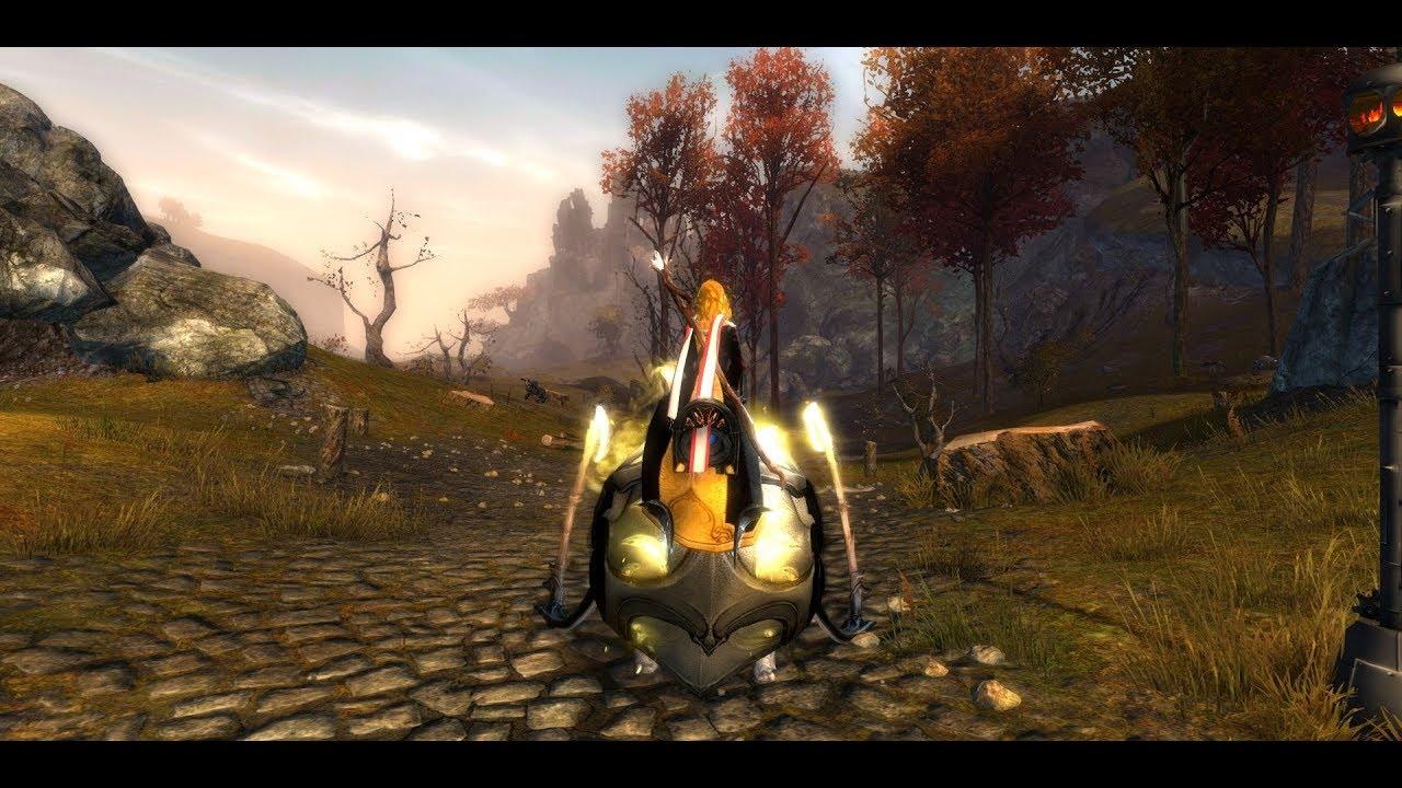 Guild Wars 2 Golden Racing Scarf