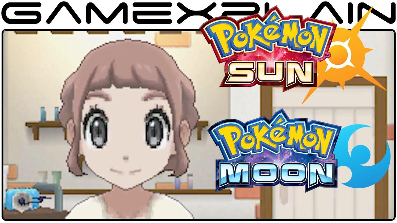 Pokmon Sun Amp Moon Trainer Customization Pokmon