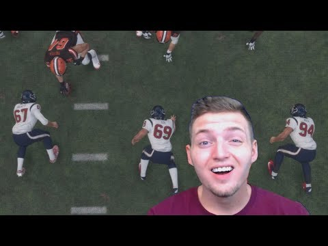 CLEVELAND BROWNS VS. TEAM OF PUNTERS! Madden NFL 18 Funny Challenge