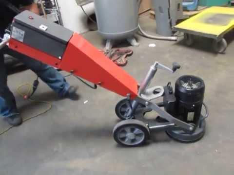 sold husqvarna pg 280 s concrete floor grinder polisher 2hp 11