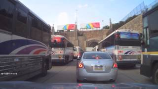 Dangerous Lincoln Tunnel Busses in New York City.