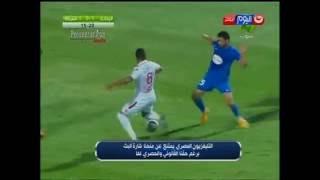"""شاهد هدف """"ابراهيم عبد الخالق"""" فى مرمي الشرطة _ دور الـ 16 _ كأس مصر"""
