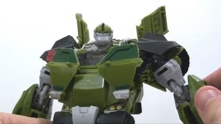 Video Review of the Transformers Prime (RiD) Voyager Class: Bulkhead